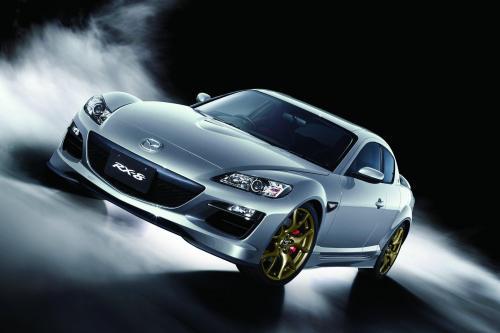 2012 Mazda RX-8 SPIRIT R Special Edition с расширенными производства