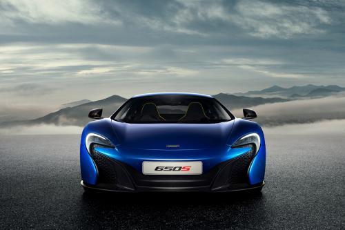 Макларен Р1 ГТП концепция дизайна с Европейский дебют