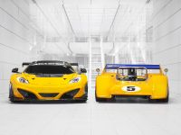 McLaren M8D Can-Am Racer And McLaren 12C GT Can-Am Edition, 1 of 3