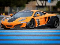 McLaren MP4-12C GT3 at the race track, 3 of 7