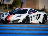 McLaren MP4-12C GT3 at the race track, 4 of 7