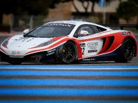 McLaren MP4-12C GT3 at the race track, 5 of 7