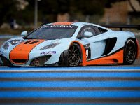 McLaren MP4-12C GT3 at the race track, 6 of 7