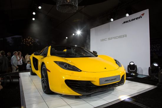 McLaren MP4-12C Spider at Pebble Beach
