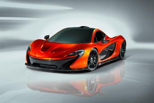 McLaren P1 концепт [фотогаллерея]