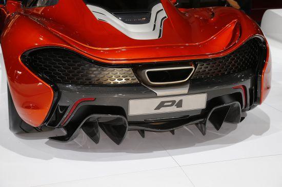 McLaren P1 Paris