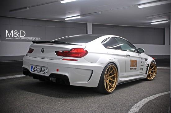 MD BMW 650i F13