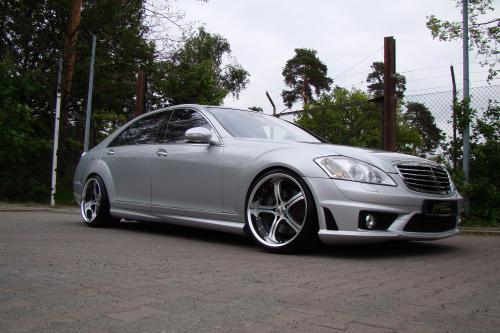 Mercedes-Benz S550 уточненный MEC Design