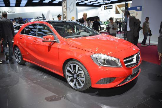 Mercedes-Benz A-Class Paris