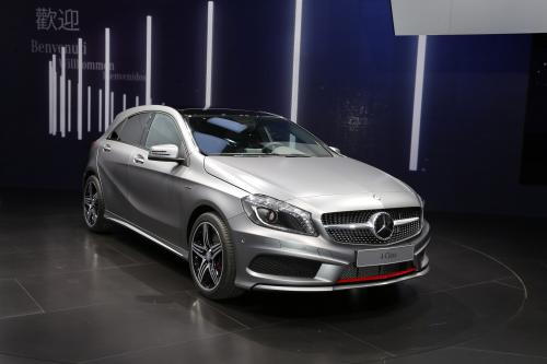 Mercedes-Benz A-класса: #YOUDRIVE в Твитере [фотографии]