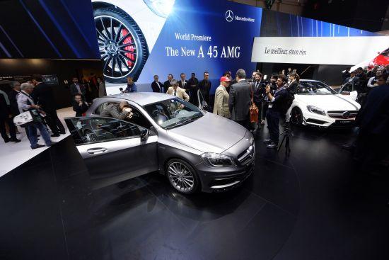 Mercedes-Benz A45 AMG Geneva