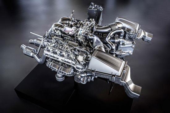 Mercedes-Benz AMG 4.0 liter V8 Bi-Turbo