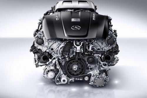 Мерседес-Бенц АМГ 4,0-литровый V8 Би-Турбо Двигатель: мощный и эффективный