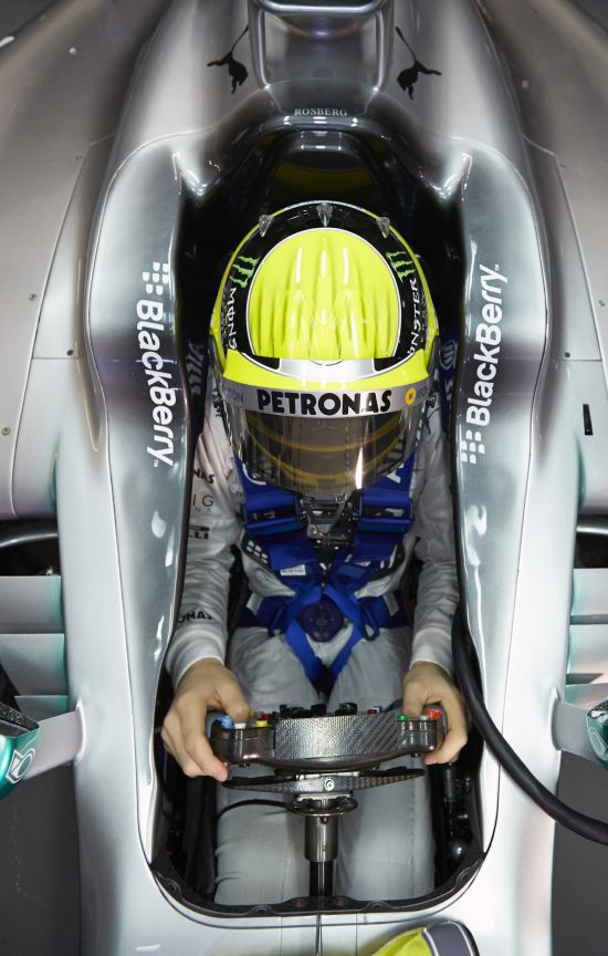 Mercedes-Benz AMG Petronas F1W04 Silver Arrow