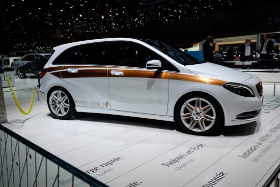 Mercedes-Benz B-Class E-CELL Plus Concept Geneva