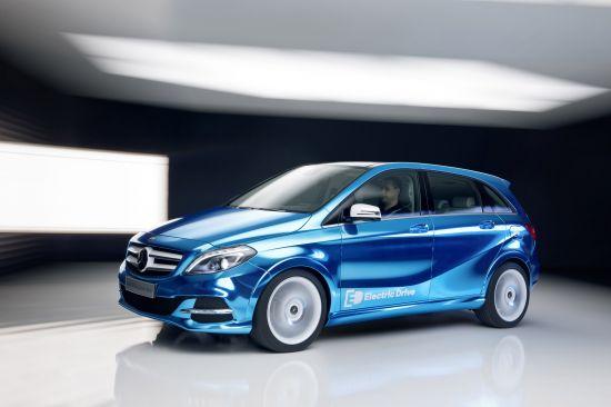 Mercedes-Benz B-Class Electric Drive Concept