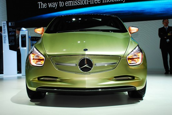 Mercedes-Benz BlueZERO concept Detroit
