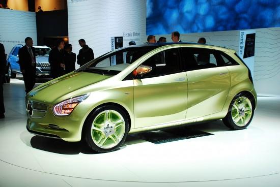 Mercedes-Benz BlueZERO concept Detroit