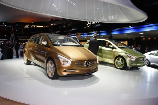 Mercedes-Benz BlueZERO E-CELL Frankfurt