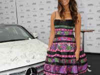 Mercedes-Benz presents a C 350 - autographed by international stars, 3 of 4