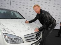 Mercedes-Benz presents a C 350 - autographed by international stars, 2 of 4