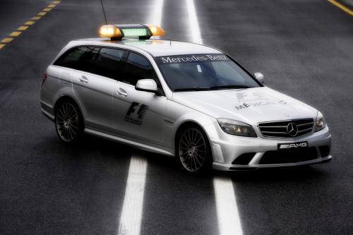 SL 63 AMG и C 63 AMG Estate Официальный F1™ Safety и медицинские автомобили