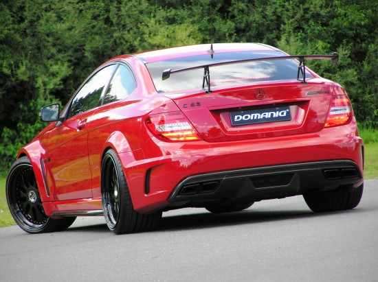 Mercedes-Benz C63 AMG Black Series by Domanig