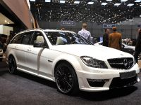 thumbnail image of Mercedes-Benz C63 AMG Estate Geneva 2011