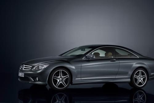 Mercedes-Benz специальная модель CL 500 - 100 лет юбилейное издание с эксклюзивной комплектацией