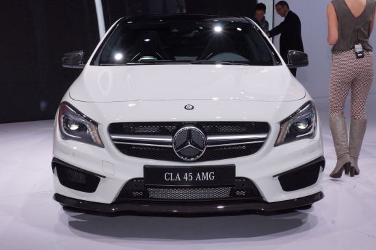 Mercedes-Benz CLA45 AMG New York