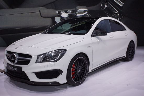 Mercedes-Benz CLA45 AMG New York