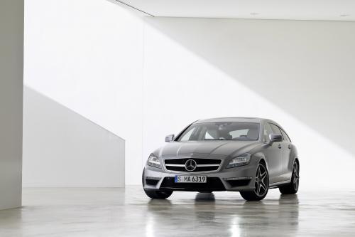 Mercedes-Benz CLS 63 AMG Shooting Brake сочетает в себе практичность и элегантность
