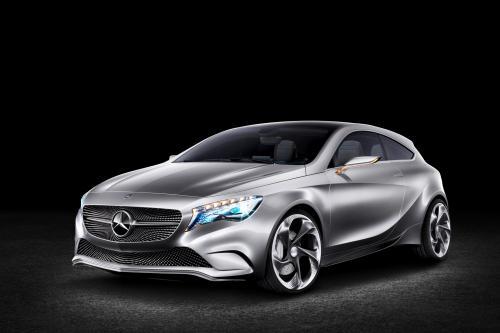 Mercedes-Benz Concept A-Class Национальный Тур