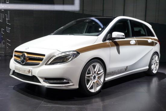Mercedes-Benz Concept B-Class E-CELL PLUS Frankfurt