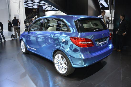 Mercedes-Benz concept B-Class Electric Drive Paris
