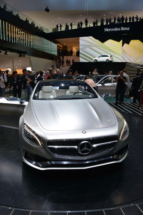 Mercedes-Benz Concept S-Class Coupe Frankfurt