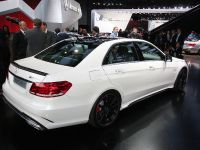 Mercedes-Benz E 63 AMG saloon Detroit 2013