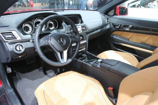 Mercedes-Benz E-Class Coupe Detroit