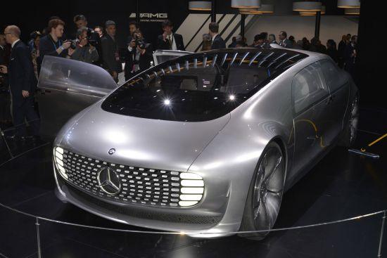 Mercedes-Benz F 015 Luxury in Motion Detroit