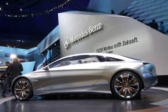 Mercedes-Benz F 125 research vehicle Frankfurt