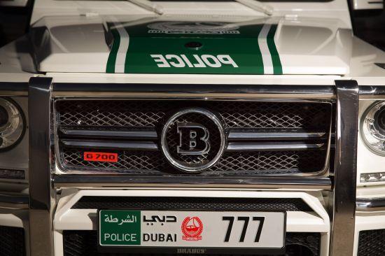 Brabus Mercedes-Benz G-Class B63S 700 Widestar Dubai Police