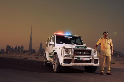 "\""Мерседес-Бенц\"" G-класса B63S 700 Widestar полиции Дубая"