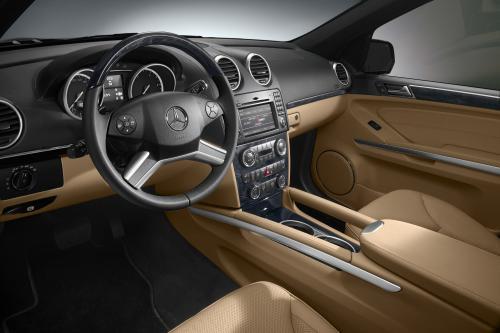 Mercedes-Benz GL: Топ-классе Производительность