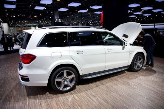 Mercedes-Benz GL 63 AMG Moscow