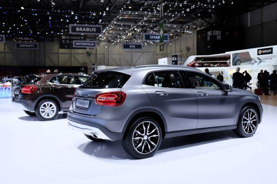 Mercedes-Benz GLA-Class Geneva