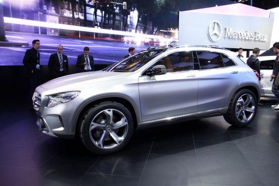 Mercedes-Benz GLA Concept Shanghai