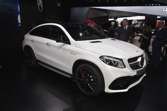 Mercedes-Benz GLE 63 Coupe Detroit