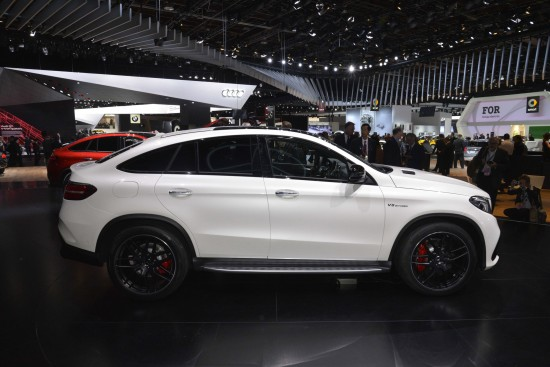Mercedes-Benz GLE 63 Coupe Detroit