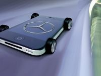 Mercedes-Benz iPhone on wheels - A-Class interior, 3 of 3