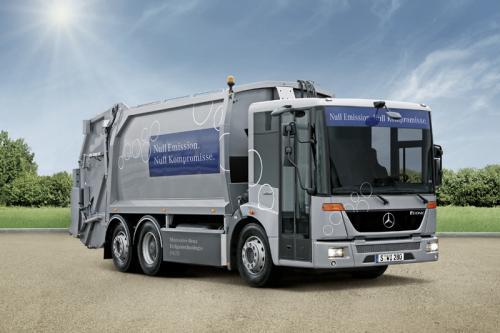 Mercedes-Benz коммунальной техники: наличие в каждом сегменте
